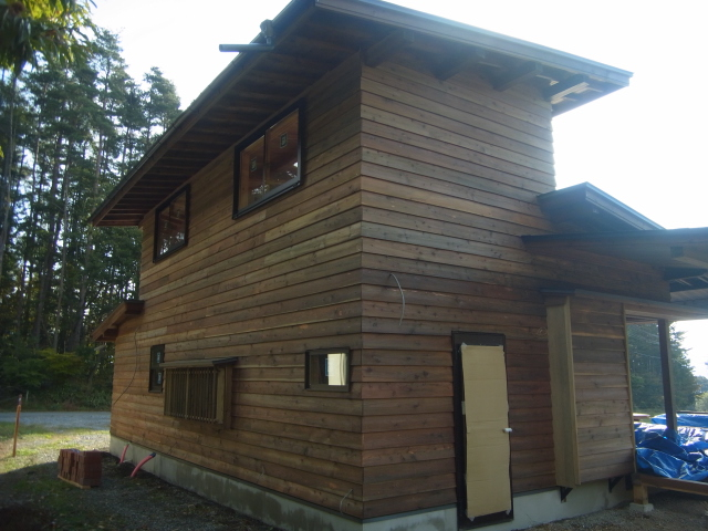 落とし込み工法の家